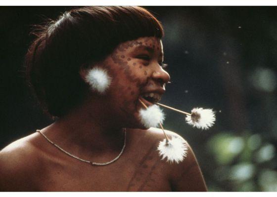 Os Yanomami chegam a Inhotim em 500 imagens de Claudia Andujar