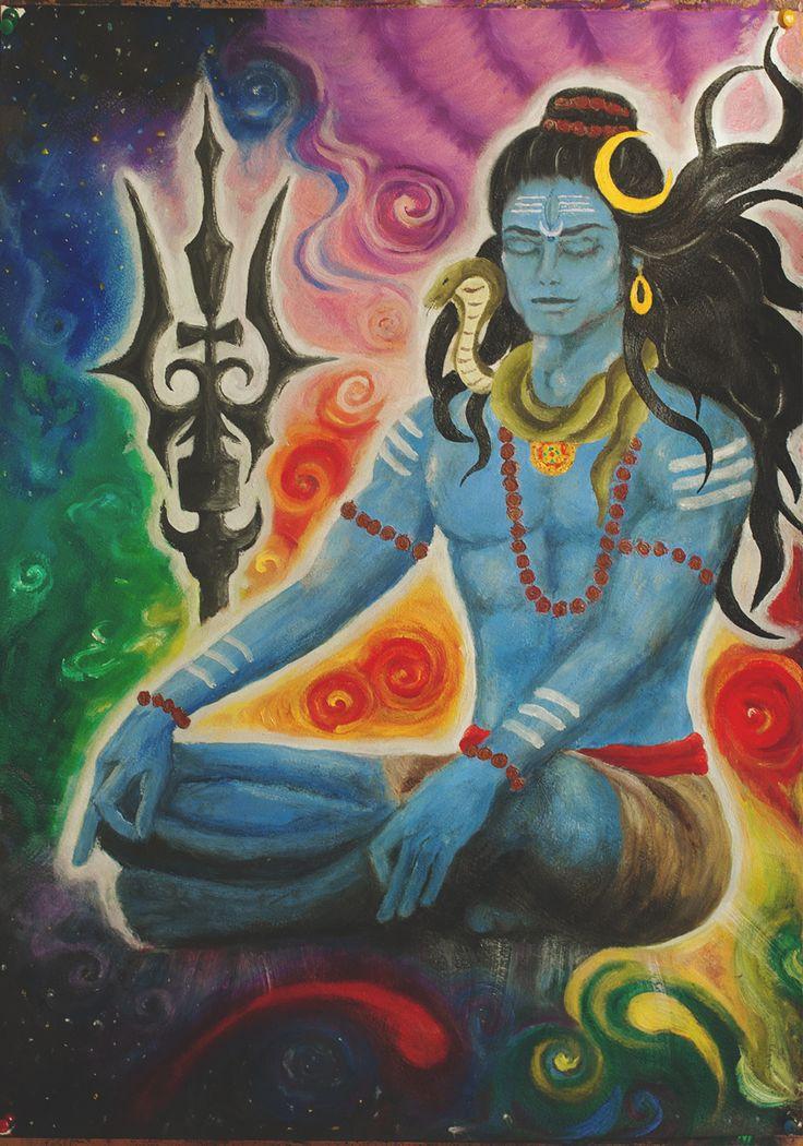 Lord Shiva by mirselena.deviantart.com on @deviantART
