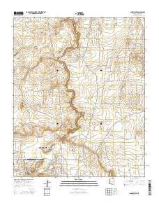 ~ Snowflake AZ topo map, 1:24000 scale, 7.5 X 7.5 Minute, Current, 2014