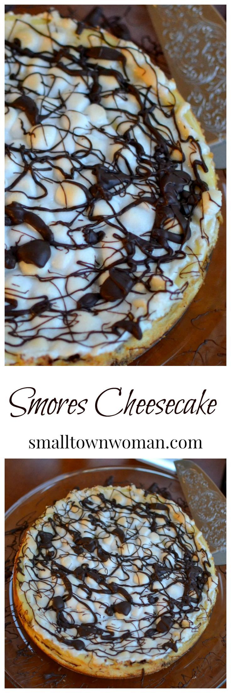 This cheesecake is a cinch to make and tastes fantastic!   Are you having company over for the holiday?  This makes for a wonderful presentation.