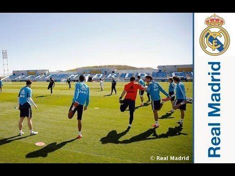 Ver Último entrenamiento del Real Madrid de cara al partido ante el Valladolid