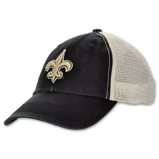 TWIN New Orleans Saints NFL Stanwyk Hat, Black - Non