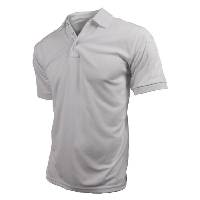<p>A versatile shirt that maintains a neat, professional appearance, the Propper Uniform Polo blends breathable comfort with tactical functionality. The polyester material dries quickly, wicks away moisture and provides fade, shrink and wrinkle resistance. For added utility, the symmetrical three-button placket features a loop at the bottom for attaching sunglasses or a mic, and the left sleeve has dual pen stalls. Hidden collar stays in the traditional-style polo shirt collar let you m...