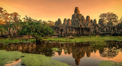 Stunning and Interesting Place Tourism in Cambodia