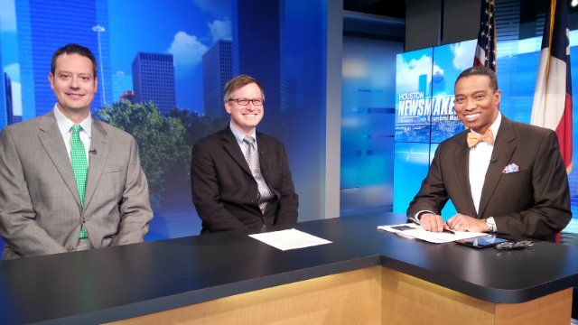 Professor Geoffrey Hoffman appeared as a guest on KPRC's Houston Newsmakers with Khambrel Marshall and discussed Texas Governor Elect Greg Abbott's leadership in the recently filed lawsuit challenging the Obama Administration's executive action regarding immigration