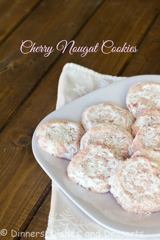 A homemade version of the old classic Archway Cherry Nougat Cookie