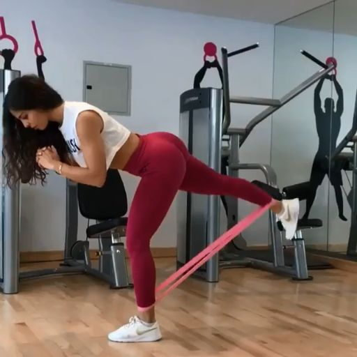 Resistance Band Workout: 6 Exercises for Strong Legs and Glutes