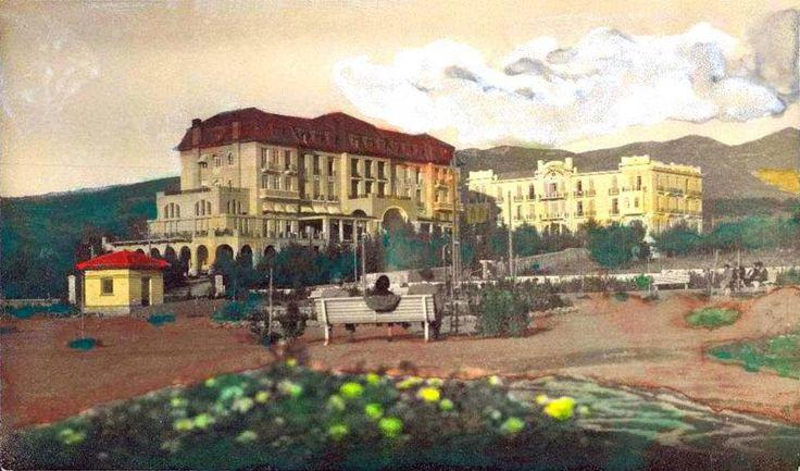 Κηφισιά, Κεφαλάρι, περ. 1920, τα ξενοδοχεία CECIL και ΟΛΥΜΠΟΣ.