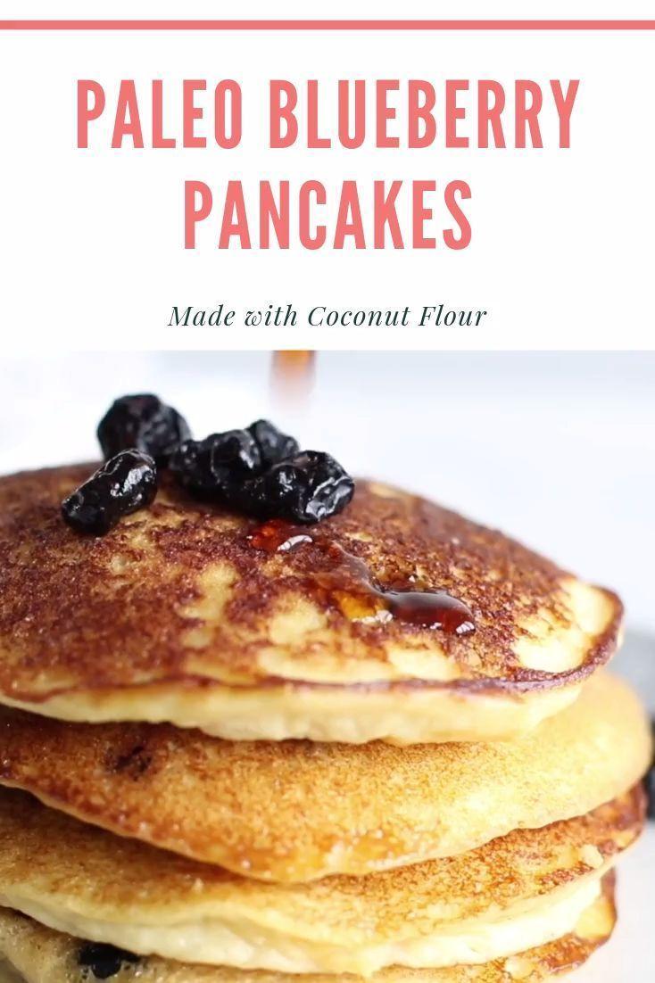 Paleo Blueberry Pancakes Recipe Blueberry Pancakes Gluten