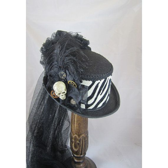 Steampunk Top Hat Day of the Dead Steampunk Store Black Top