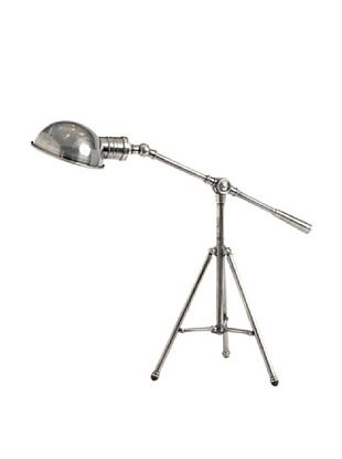 64% OFF Hip Vintage Handmade Industrial Finish Tripod Desk Lamp, Silver