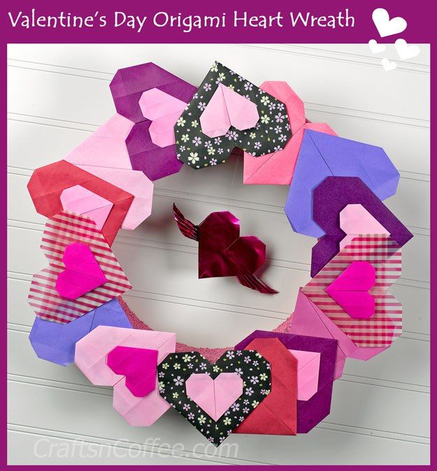 1000+ Images About Valentine's Day Paper Crafts On