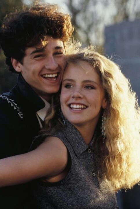 """Can't buy me love"" Young Patrick Dempsey and Amanda Peterson, this movie made me sooo happy, i am in love with young patrick dempsey!"