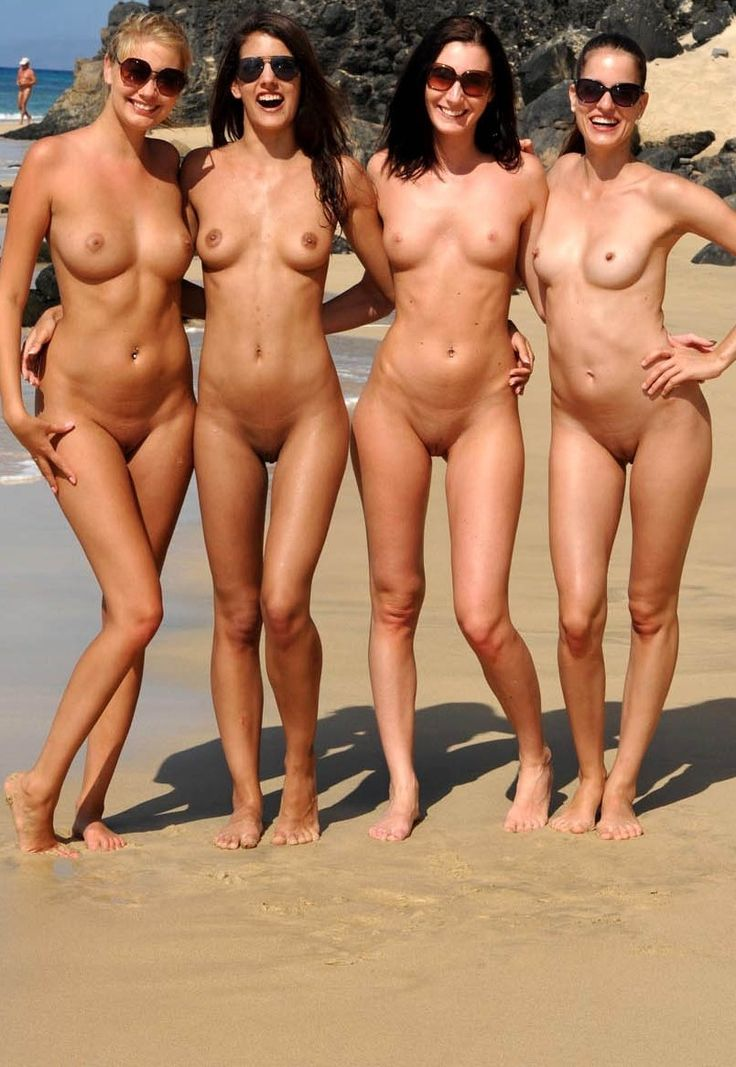 group of women topless