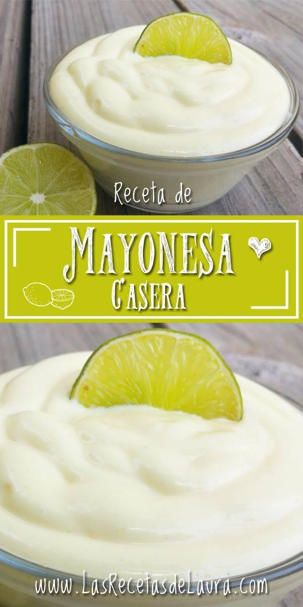 Esta receta de mayonesa casera es muy practica, fácil y rápida de preparar, por supuesto muy saludable y perfecta para usarla para todas las recetas.