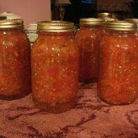 Italian Style Stewed Tomatoes - great canning idea
