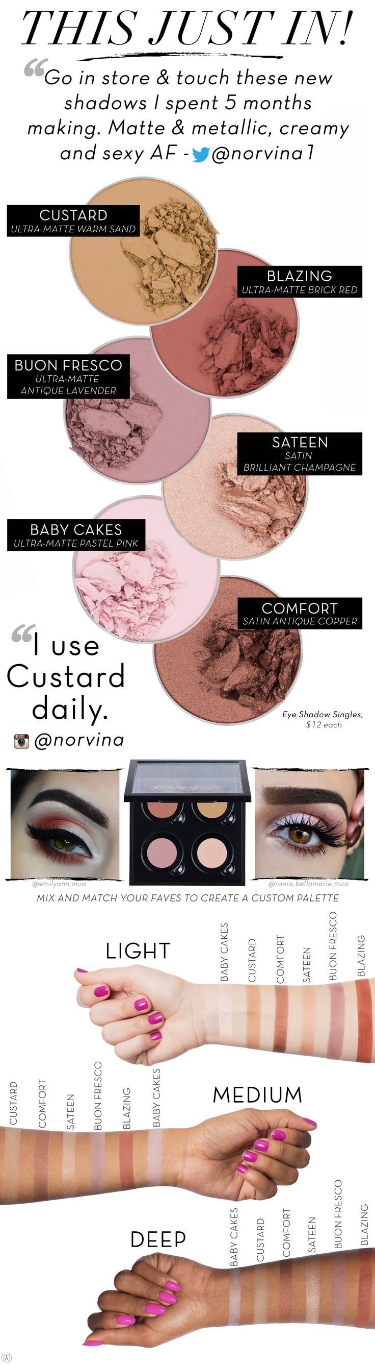 Beyond the Brow | Official Blog of Anastasia Beverly Hills - Step into Spring with our New Eye Shadow Singles!