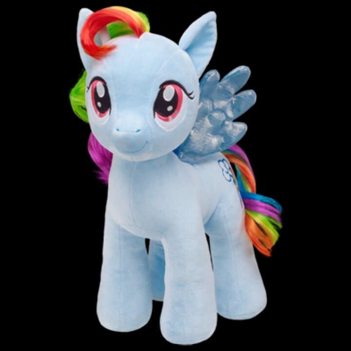 Build A Bear MLP My Little Pony Princess Twilight Alicorn UNSTUFFED