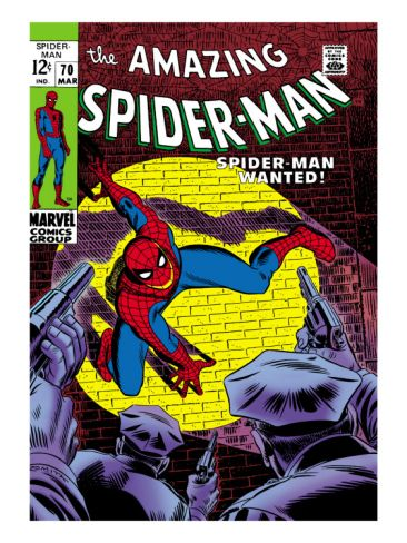 Marvel Comics Retro: The Amazing Spider-Man Comic Book Cover #70, Wanted!