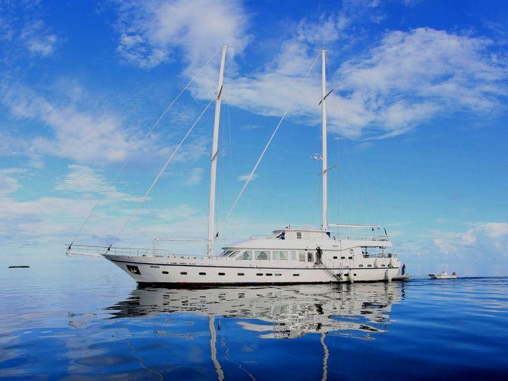 Neta Marine Schooner Rigged Motorsailer, Sail Yacht