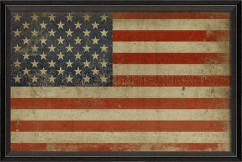 American flag 17x24 ($190)