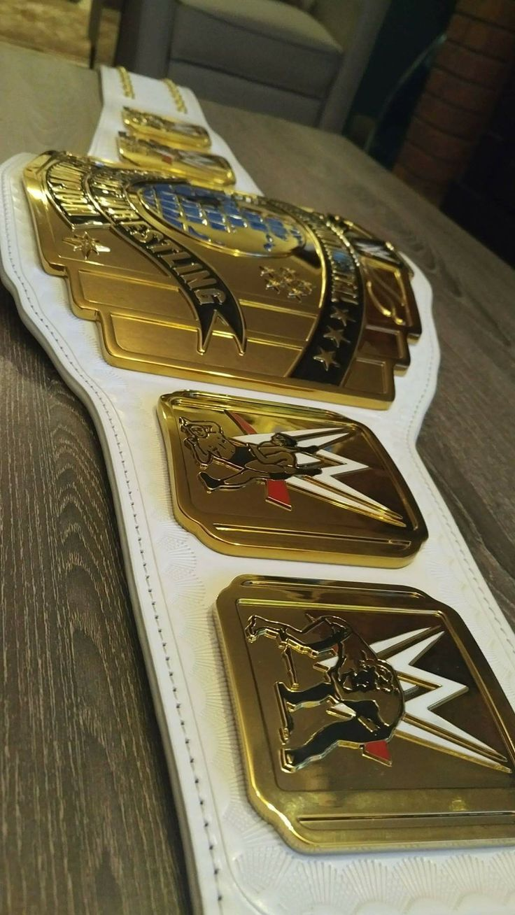 WWE Intercontinental Championship belt*