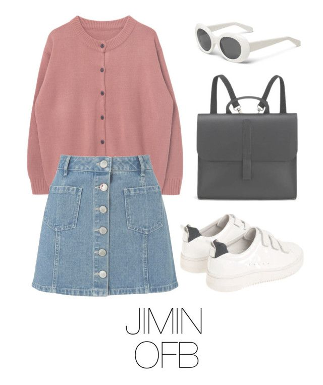 """Picnic with BTS"" by mazera-kor on Polyvore featuring мода, Miss Selfridge, Sandro, Danielle Foster, outfit, bts, jimin и BtsFashion"