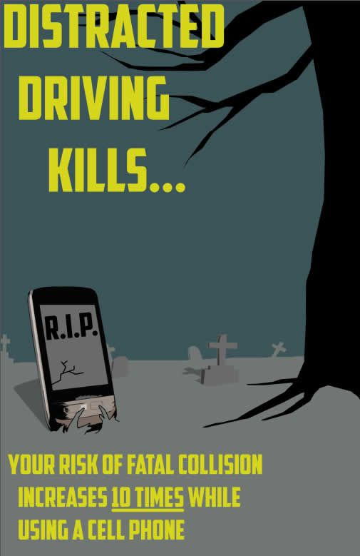 distracted driving 4 essay Distracted driving claims thousands of lives each year protect yourself and others by learning the facts about distracted driving.