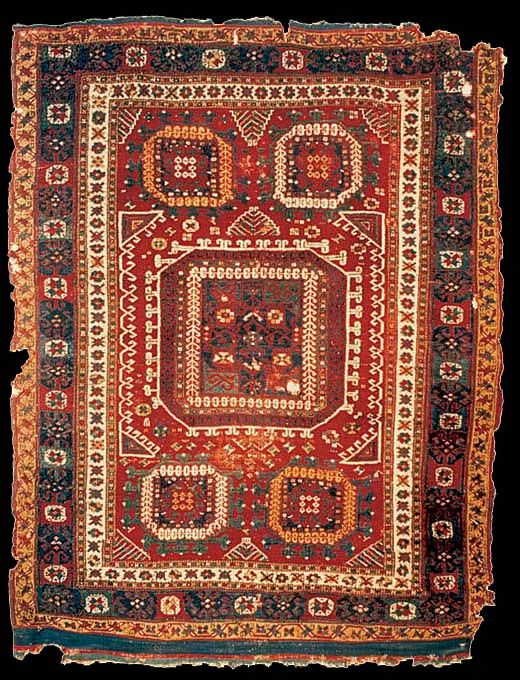 Bergama rug, Turkish and Islamic Arts Museum, Istanbul, inventory no: 755