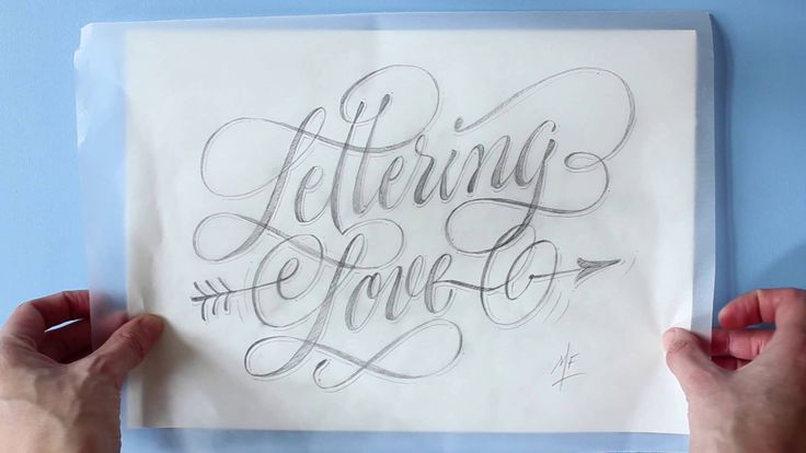 Lettering con Martina Flor