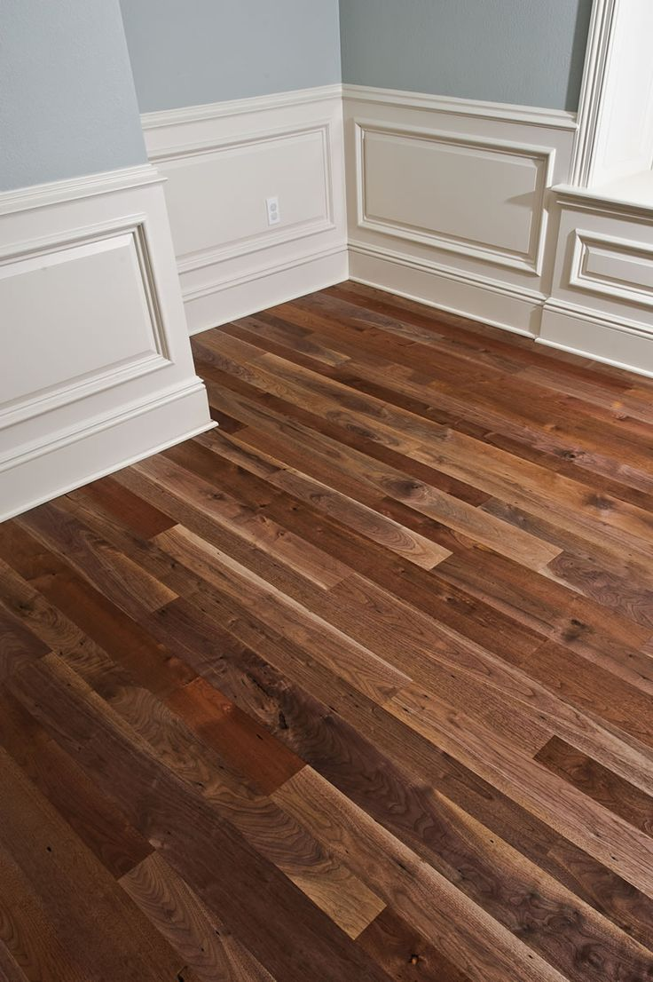 Black walnut wood flooring the image for Walnut flooring