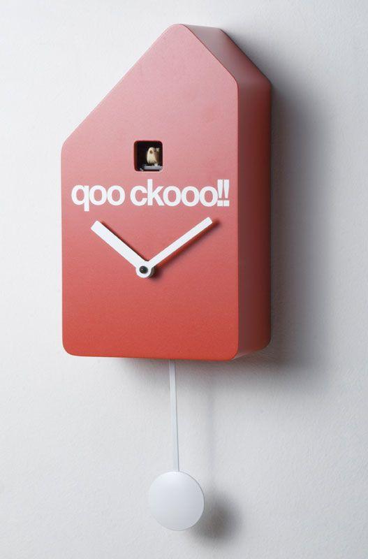 Orologio a Cucu Q01 15xh40 cm Realizzato In legno movimento al quarzo | Progetti | Stilcasa.Net: Orologi Cucu