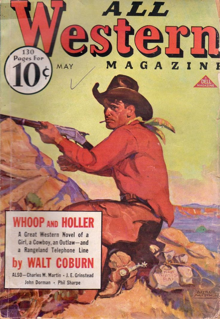 Western Book Cover Art ~ Images about western books and magazines on