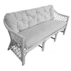 Lowena Rattan 3 Seater Sofa