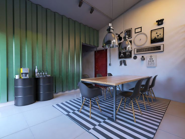 Projeto - Minha Casa (sala e copa) Decoração e montagem da copa.