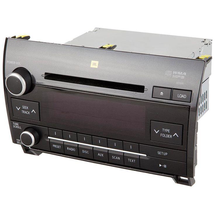 2009 Toyota Tundra Car Radio