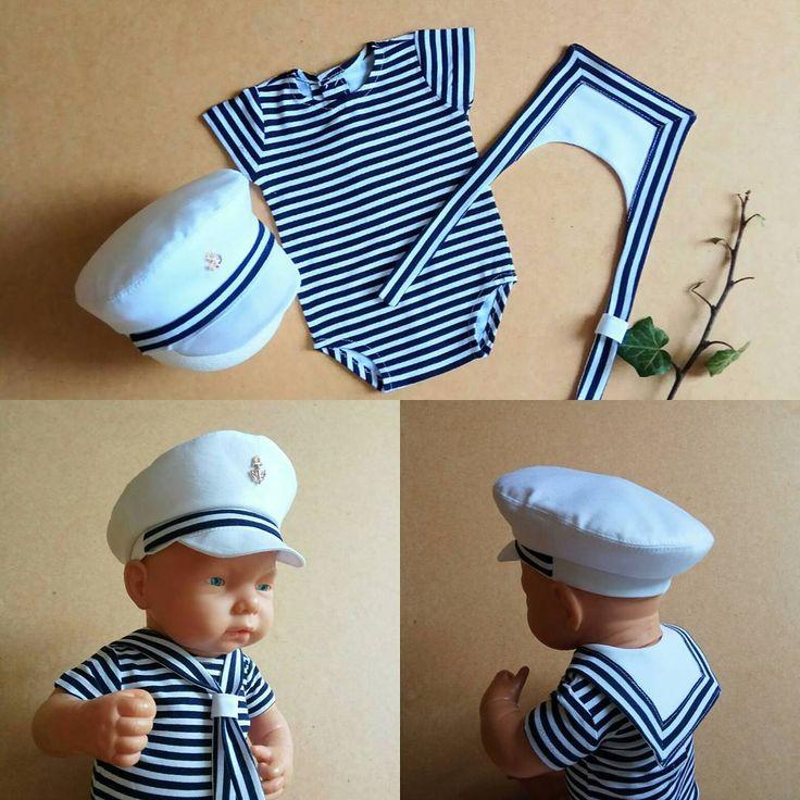 Фотограф которой отшила костюм моряка, рассказывала что у папы- моряка было много восторга от наряда) в наличии) #sveyaprop