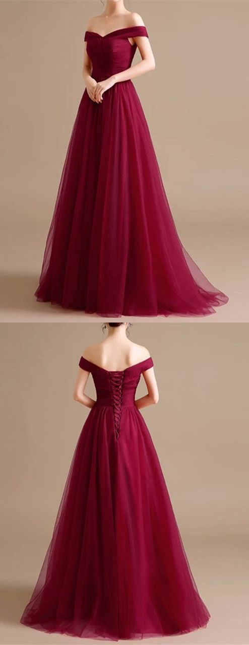 burgundy bridesmaid dress,burgundy formal dress,long prom dress,burgundy evening gowns