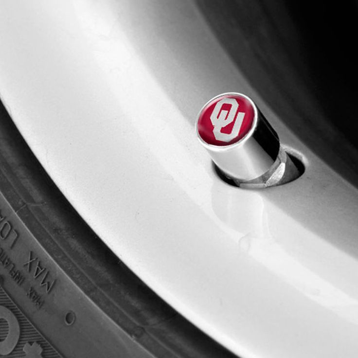 Oklahoma Sooners Valve Stem Covers