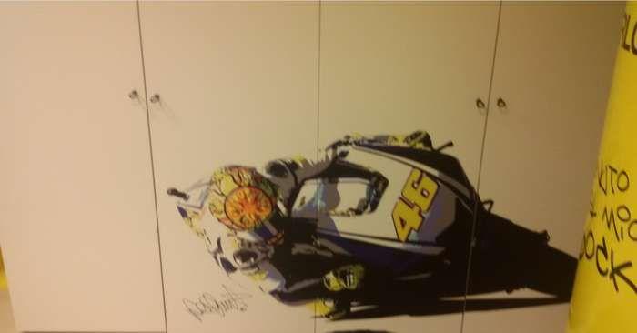 Cameretta per ragazzi/e Valentino Rossi... Autografata! #iostoconVale