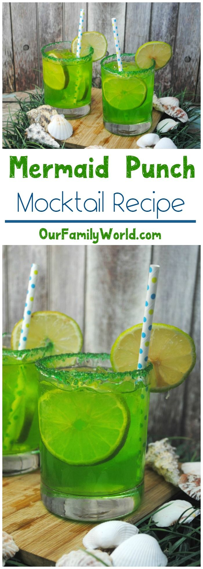 With warmer days ahead, it's time to start thinking about all those delicious summer drinks you'll enjoy while lounging on your deck! Plan a few unique non-alcoholic drinks for kids and yourself! Whip up our mermaid punch mocktails for kids, perfect for parties or just spending time reading together!
