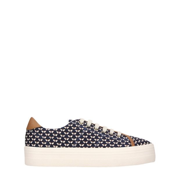 Espadrilles Laag Fourgons Marine Authentiques EXjFf