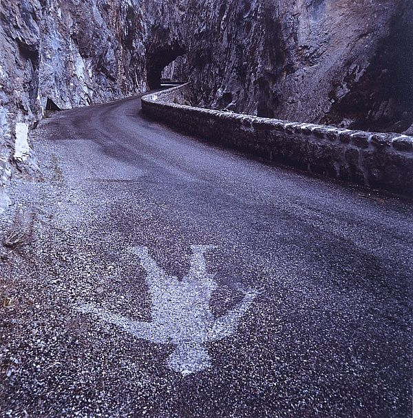 Andy Goldsworthy rain shadow