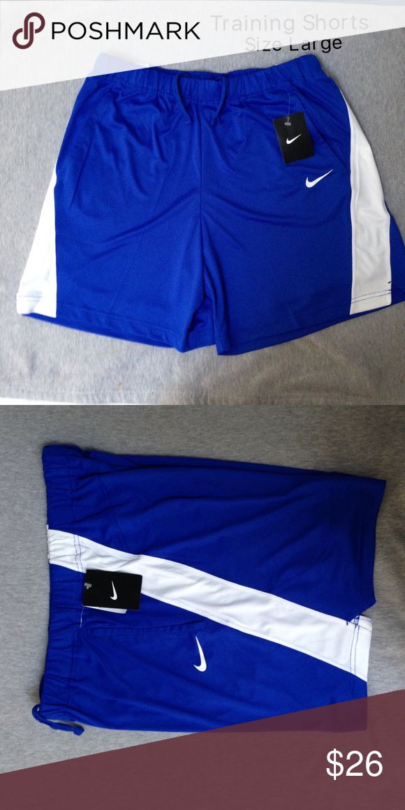 NWT Nike Women's Training Shorts Size Large Brand new with tags. Authentic Nike! CHECK OUT MY CLOSET FOR MORE DESIGNS SND SIZES! Nike Shorts