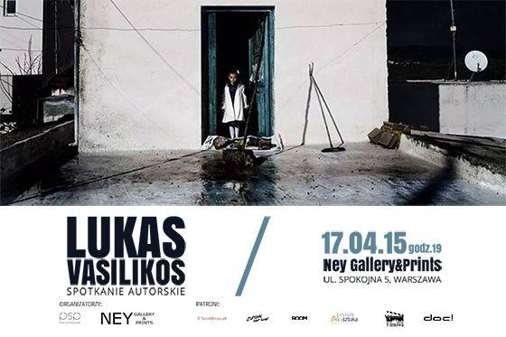 Lukas Vasilikos - Spotkanie autorskie - 17 kwietnia 2015 r. w Warszawie