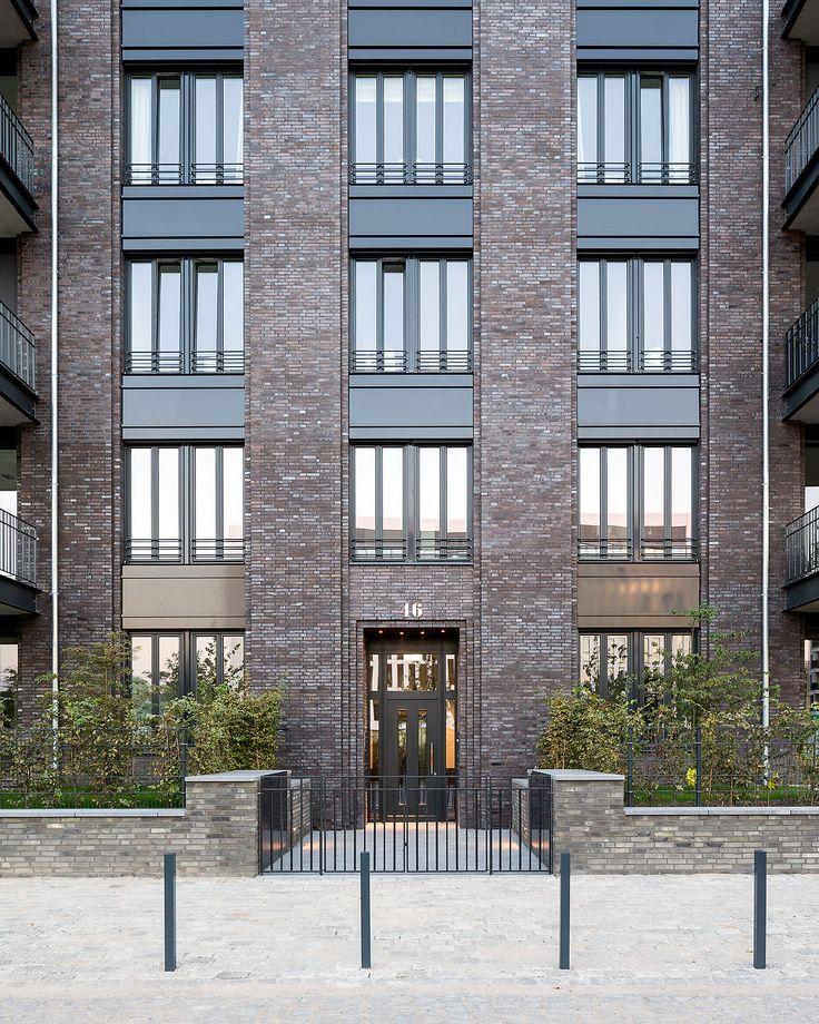 Gillrath Klinker für das Wohn-Ensemble New York, msm Architekten