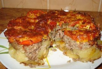 Картофель под шубой. Необычно, оригинально и очень вкусно! - be1issimo.ru