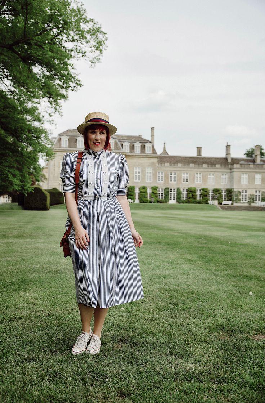 Vintage Dress Kleider Modestil Traumkleider