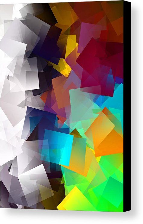 Simple Cubism 33 Canvas Print by Chris Butler.  #art #cubism #deco #design #interior #home #wall #modern #contemporary