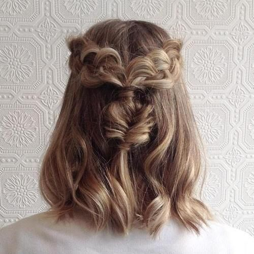 Pleasant 1000 Ideas About Braids For Short Hair On Pinterest Braids For Hairstyle Inspiration Daily Dogsangcom